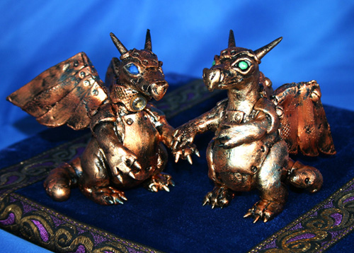 Tags art commission dragons mech dragon sculpture steampunk wedding