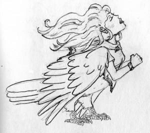 The Beautiful Harpy