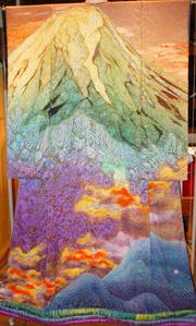 A Kimono by Itchiku Kubota