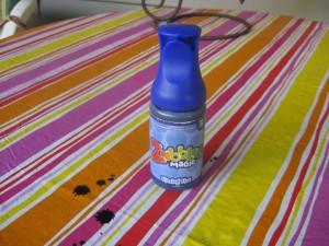 Bottle of Blazing Blue Zubbles