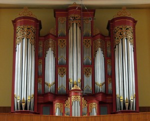 Pipe Organ at Oberlin College
